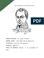 Pensamiento Político de Simón Bolívar