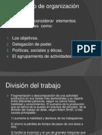 3.5 organizacion