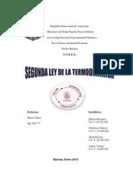 Segunda Ley de La Termodinamica222