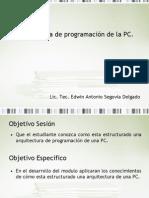 1.2Arquitectura de programación de la PC