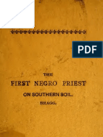 George Freeman Bragg --The First Negro Priest on Southern Soil (1909)