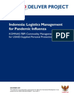 USAID - Indonesia Logistics Management for Pandemic Influenza