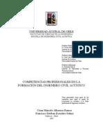 Competencias Profesionales Ingeniero Civil Acustico Bmfcia339c