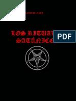 Anton LaVey Rituales Satanicos
