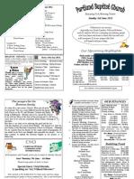 PBC Bulletin - June 3