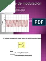 3 -Precentacion de Indices de Modulacion