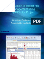 Ian Wallace - Introduction to Project Risk Management Using @RISK for Project