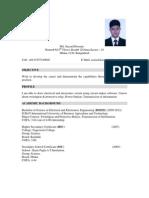 Sazzad CV