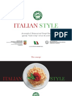 Italian Restaurant Project