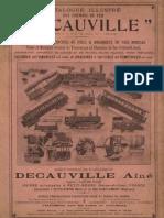Decauville 1897 Ng Wagons