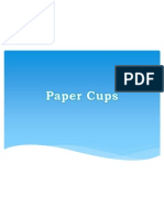 Paper Cups Services