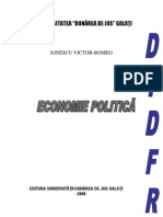 Economie Politica-Ionescu Romeo