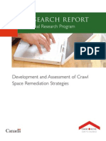 Development and Assessment of Crawl Space Remediation Strategies