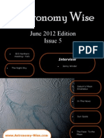 Astronomy Wise June Newsletter 2012