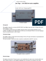 OZ2OE-144 MHz Pre Amplifier With BF981