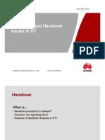 How to Analyze Handover in DT
