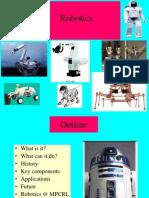 Introduction to Robotics A