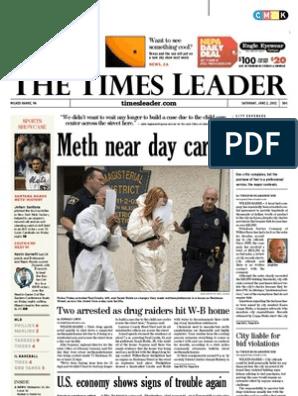 Times Leader 06-02-2012 | Wilkes Barre | Methamphetamine