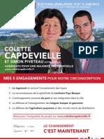 Profession de foi - Colette Capdevielle