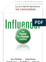 First Chapter of Influencer