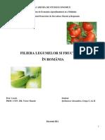 Filiere Agroalimentare - Filiera Fructelor Si Legumelor - Stefanescu Alexandru