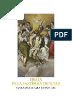 Fiesta de la Santísima Trinidad- homilía-