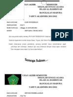 UAS alhamidyah2 22-01-12