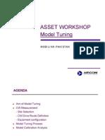 Model Tuning Process on Aircom Asset