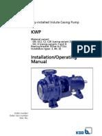 Kwp Operating Instructions