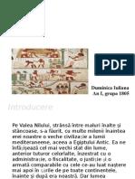 Presentation 1 Egiptul Antic Duminica Iuliana 1805