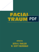 Facial Trauma - Seth Thaller, W. Scott McDonald