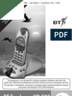 BT Freelance XD500 User Guide