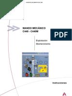 Manual de Operaçao e Manutençao Comando C440-C440M