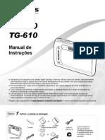 Manual de instruções Tg-610