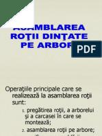 asamblare_roata_dintata