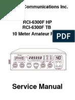 RCI-6300F HPTB Service Manual