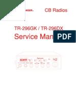TR-296 Series Service Manual