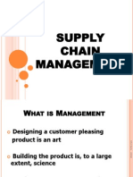 1. What is Supply Chain
