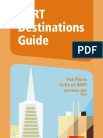 BART Destination Guide 2009
