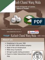 Kailash Chand Warq Wala Delhi India