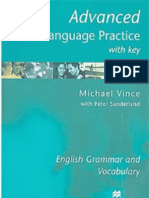 Macmillan - Advanced Language Practice With Key - Cae - English Grammar and Vocabulary - Michael