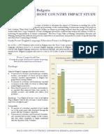 Peace Corps Host Country Impact Study Summary  |  Bulgaria