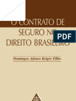 O Contrato de Seguro No Direito Brasileiro