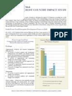 Peace Corps Host Country Impact Study Summary |  Mali
