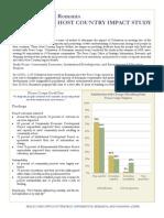 Peace Corps Host Country Impact Study Summary |  Romania