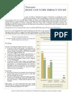 Peace Corps Host Country Impact Study Summary |  Tanzania