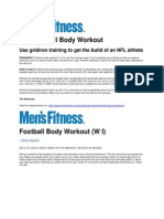 The Football Body Workout