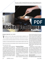 Solving Kitchen Ventilation Problems