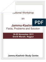 Jammu and Kashmir  - Facts,Problems and Solutions