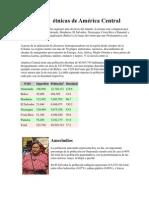 Identidades  étnicas de América Central